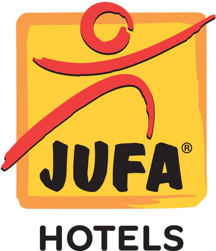 JUFA Logo, checkit + JUFA Gewinnspiel