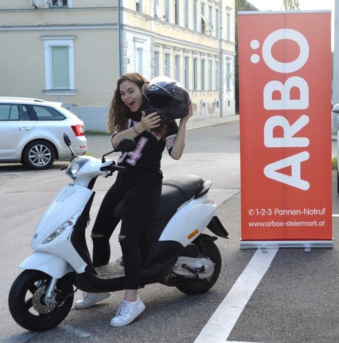 moped-pickerl Arbö