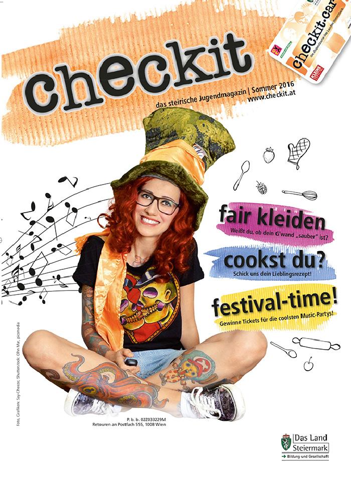 Cover checkit Sommer 2016