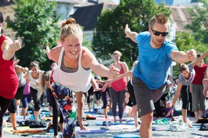 Yoga-Picknick Croce&wir