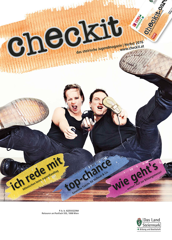 checkit Printmagazin Herbst cover