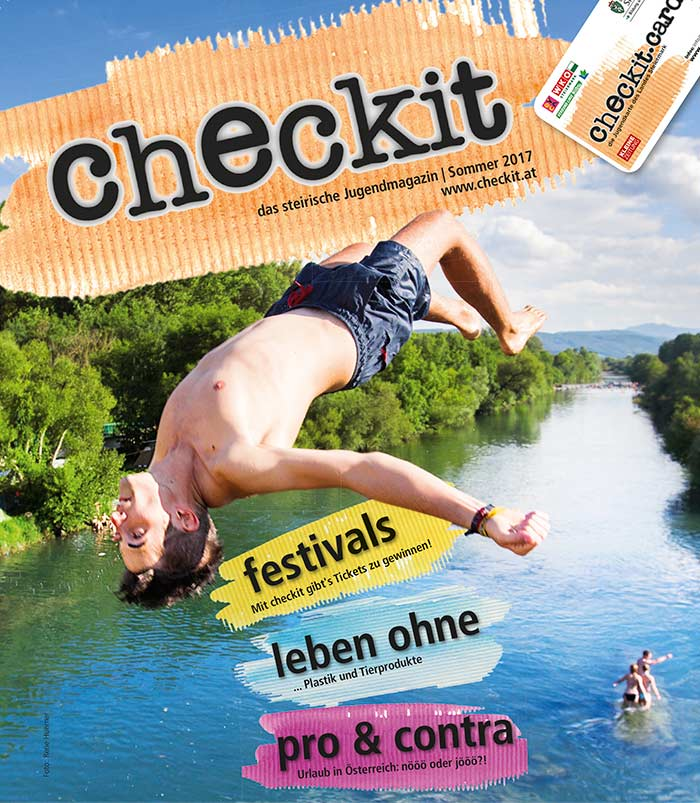 Cover checkit Foto: Rene Huemer
