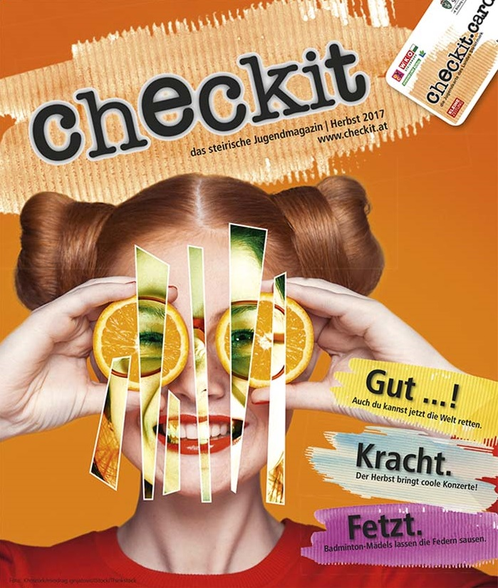 checkit Printmagazin Herbst 2017