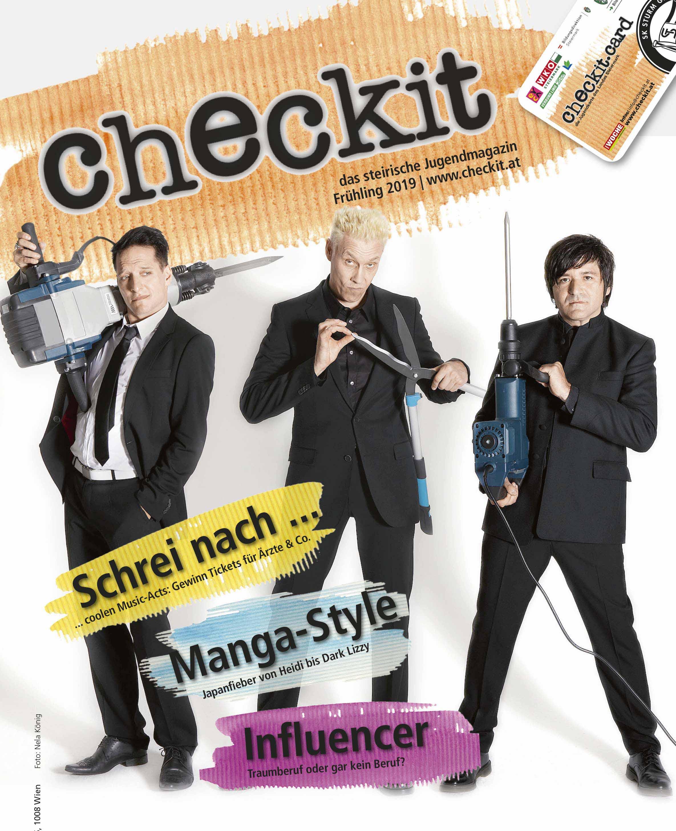 cover checkit-printmagazin Foto: Nela König