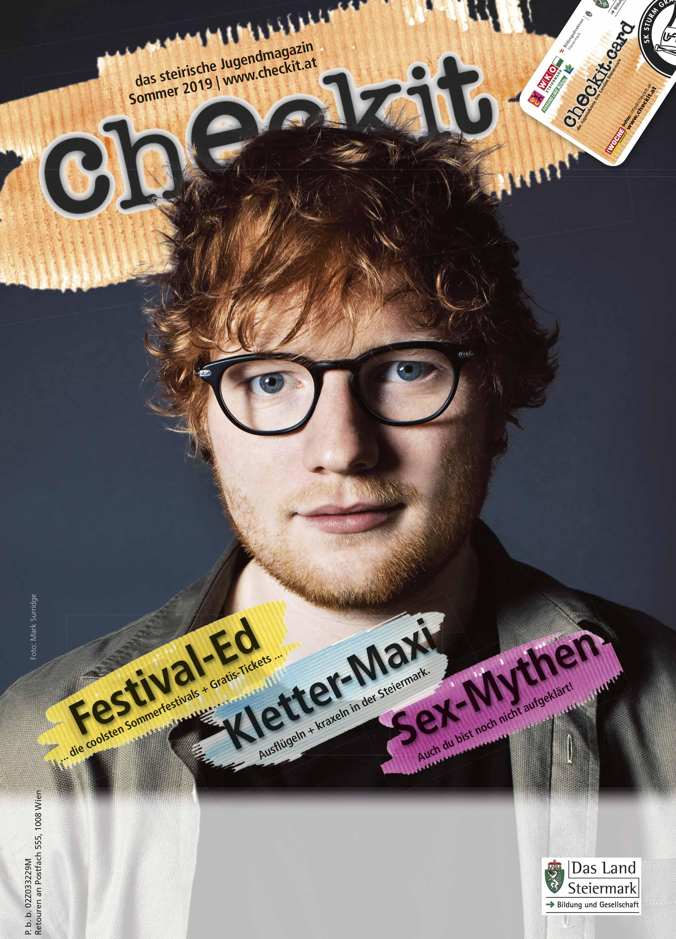 Cover checkit-Printmagazin