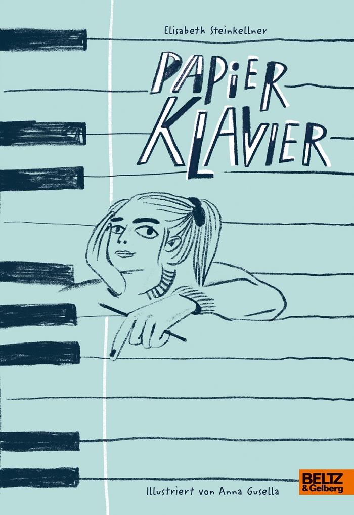 Papier Klavier | Cover: Verlag Beltz & Gelberg