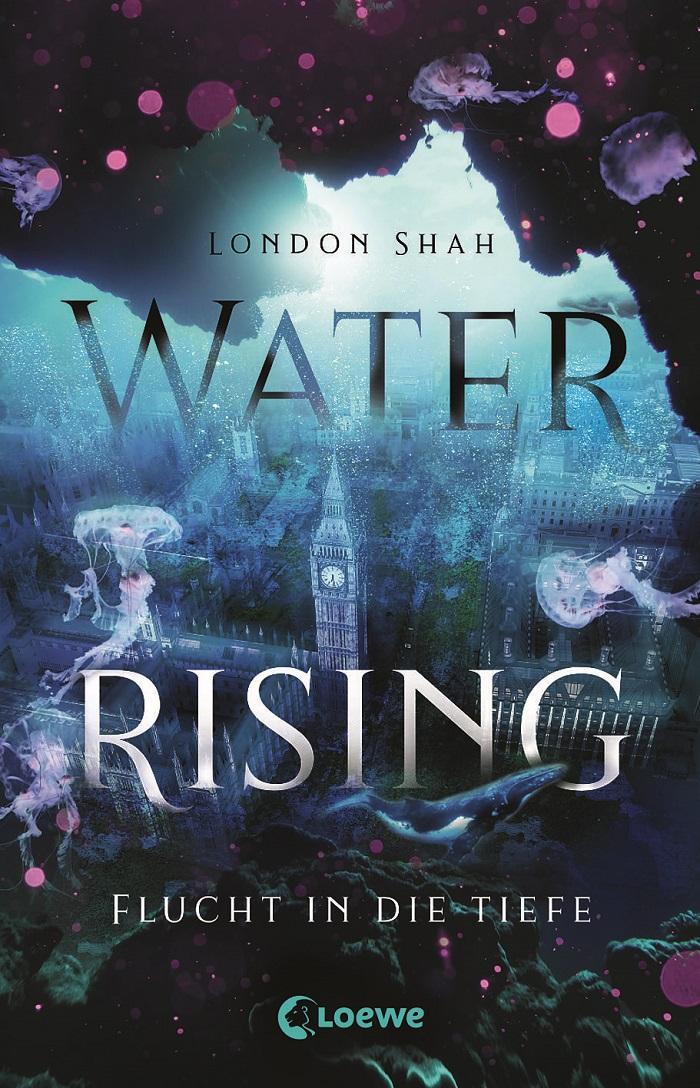 Buchtipp Water Rising| Cover: Verlag Loewe